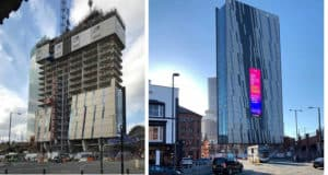 IT Services Manchester - Axis Tower Manchester Russells Construction